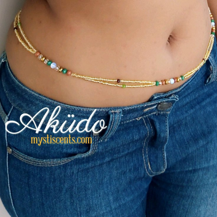 Aküdo waist beads